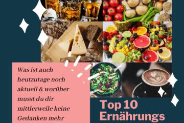 TOP 10 Ernährungs-Mythen aufgedeckt!